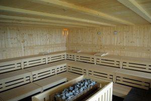 Iso sauna porukalle